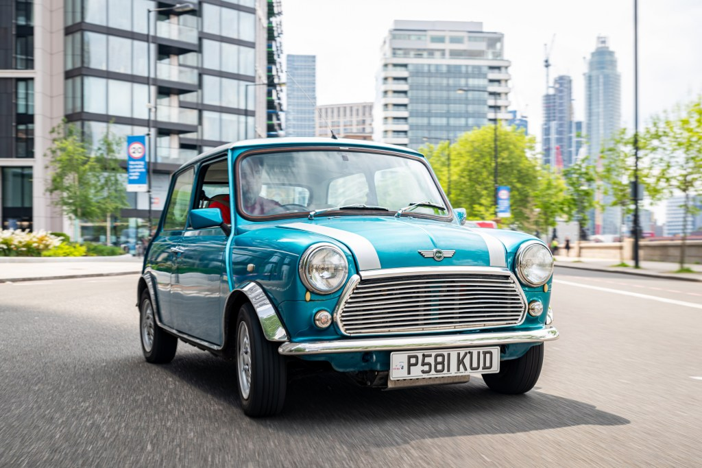 Electric-powered classic Mini now available – yours from £25,000