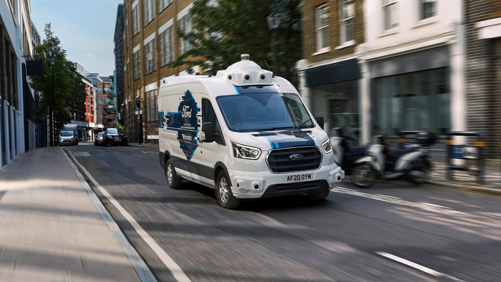 Ford partners with Hermes for self-driving delivery programme