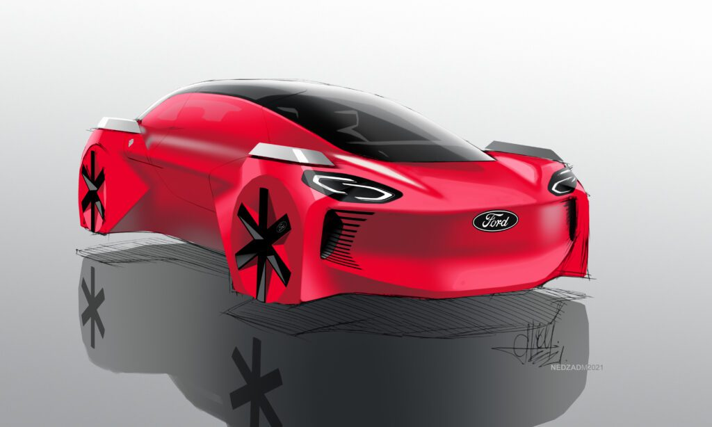 Ford 'Future car' should be red, electric and be able to fly – say kids