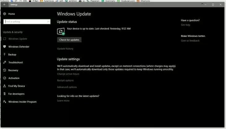 6.Windows Update