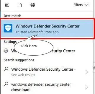 windows defende