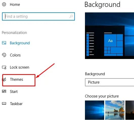 Change Themes of Windows