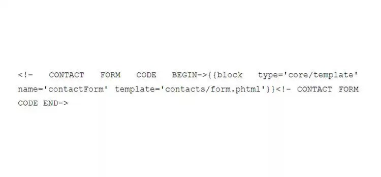 Incorporating a contact page to your Magento store