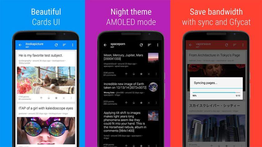 5 Best Reddit Apps For Android In 2018: Door To The Front