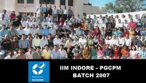 IIMI BATCH 2007 PGCPM