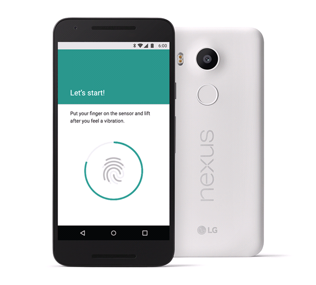 Android Marshmallow 6.0 Feature Finger print scanner