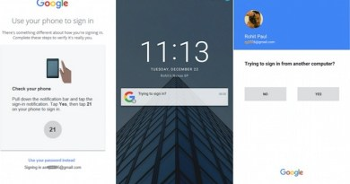 Google to Replace Password with smartphones