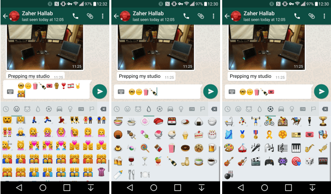 WhatsApp adds new Emojis in its update for Android