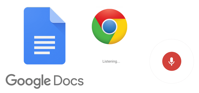 Voice command Google Docs