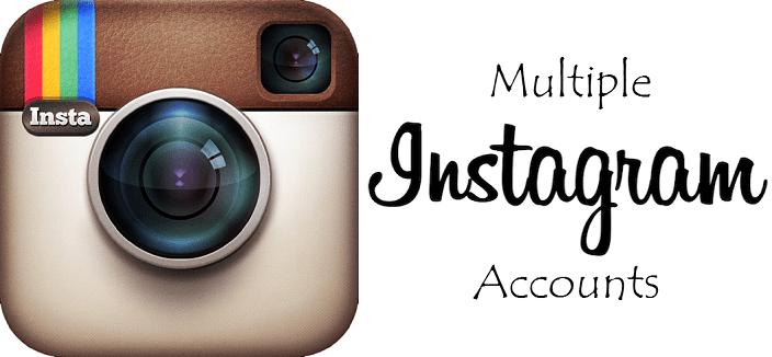 multiple accounts in Instagram
