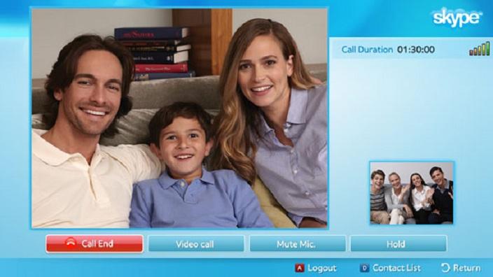 Skype Smart Tv app