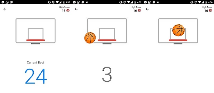 How to play Basketball on Facebook Messenger