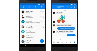 Facebook messenger for android gets Material design officially