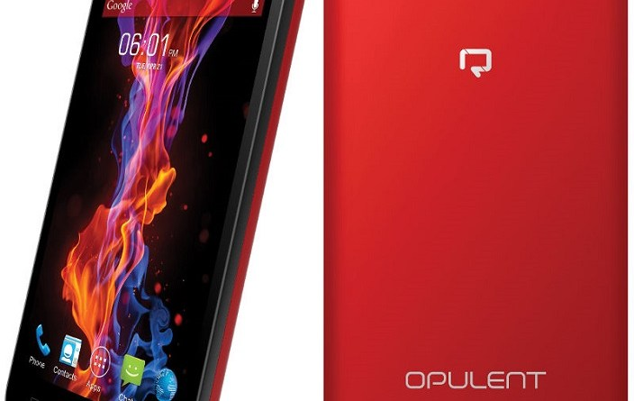 Reach Mobiles launched Opulent with 1 GB RAM and 5-inch display at Rs 3599