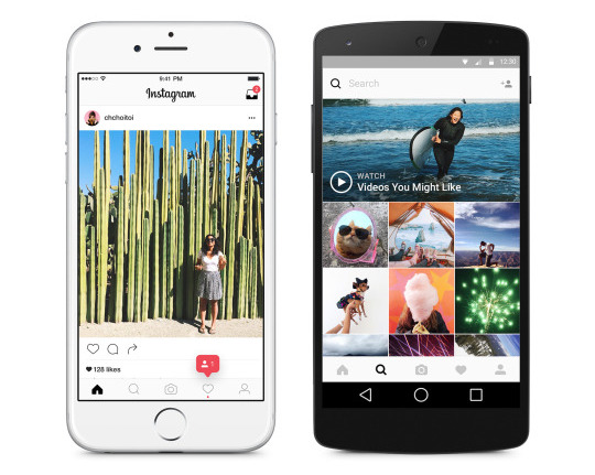 Instagram goes minimal in black and white in its latest update