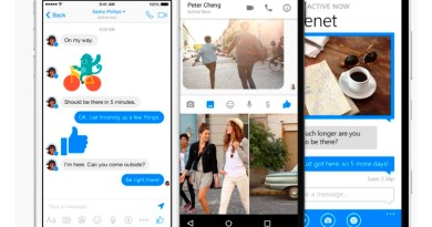 Facebook launched its Messenger app for the Windows 10 users