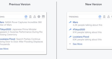 Trending topics in Facebook is now automated