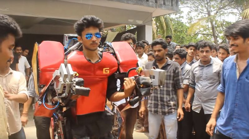 indian student iron man