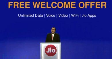 Reliance Jio Welcome offer 4g smartphones
