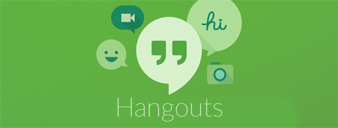 app shortcuts in hangouts