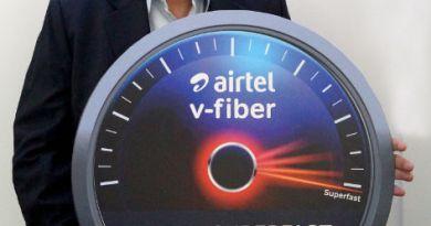 Airtel V-Fiber in Mumbai