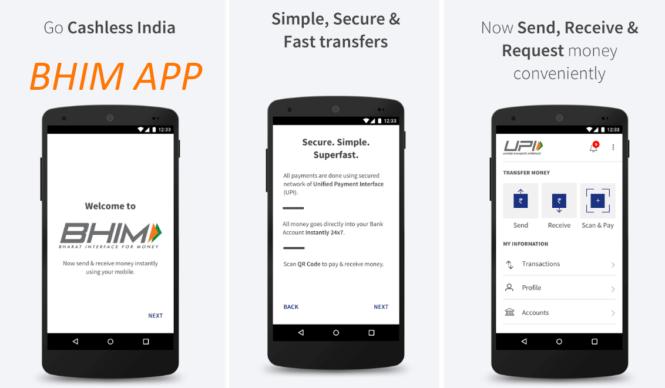 Bhim app tops in Google PlayStore