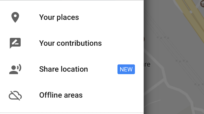 share the real-time location from Google Maps for women safety
