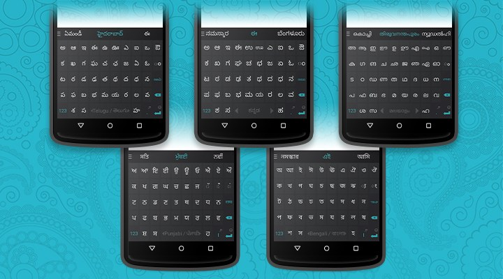 swiftkey indian languages transliteration