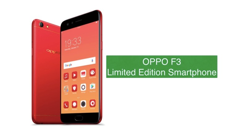 OPPO f3 LIMITED EDITION SMARTPHONE FOR DIWALI