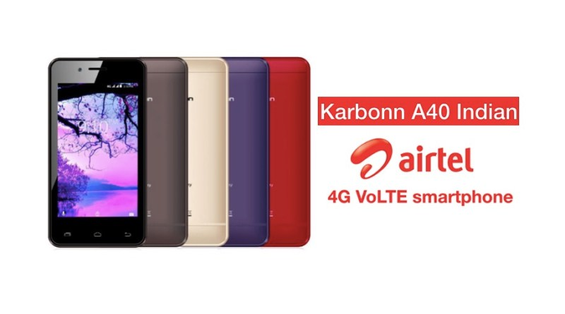 KARBONN AIRTEL 4G VOLTE SMARTPHONE