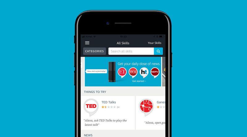 amazon alexa app in india