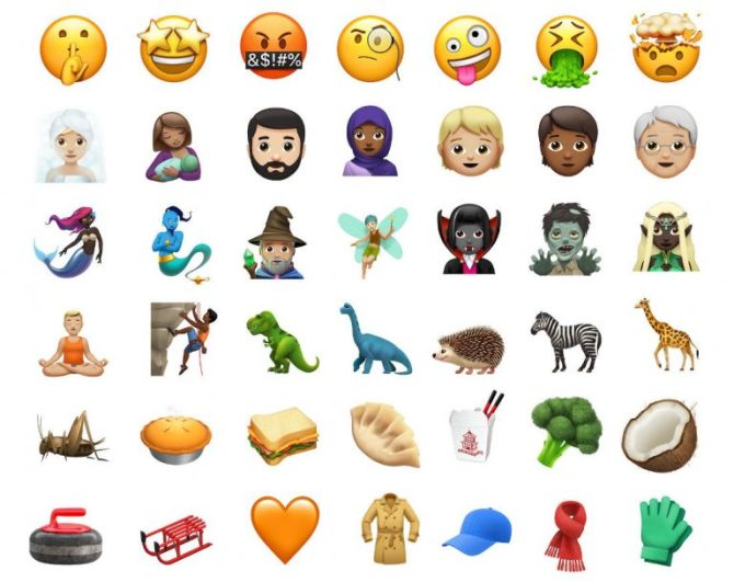 iOS Exciting Latest Emojis