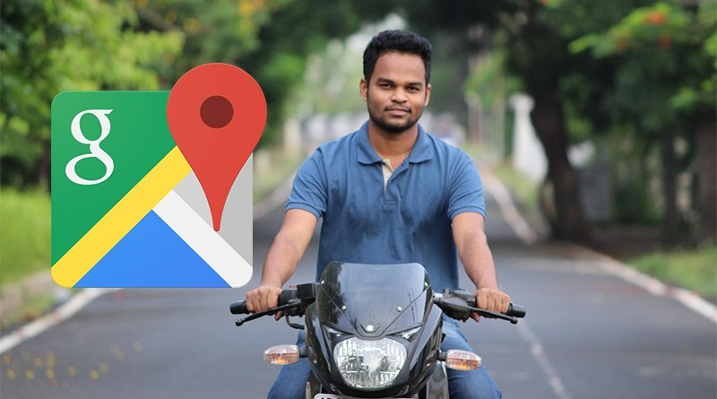 two wheeler mode on google maps