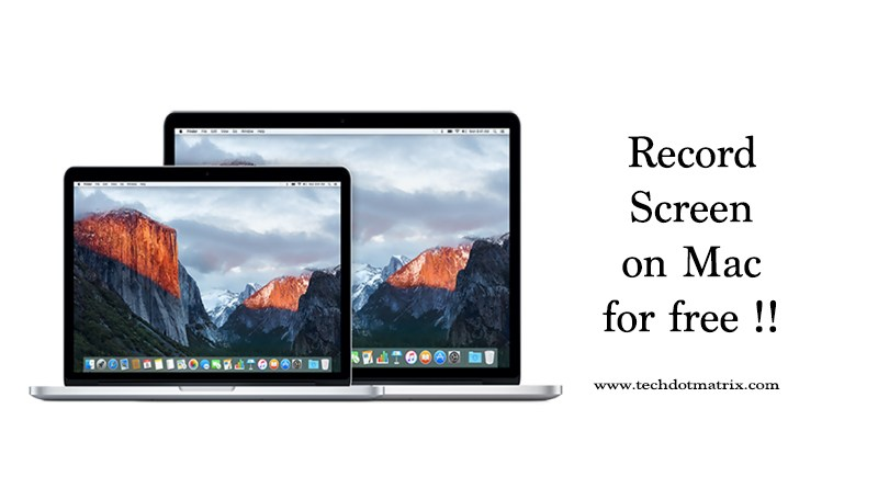 record screen on mac for free