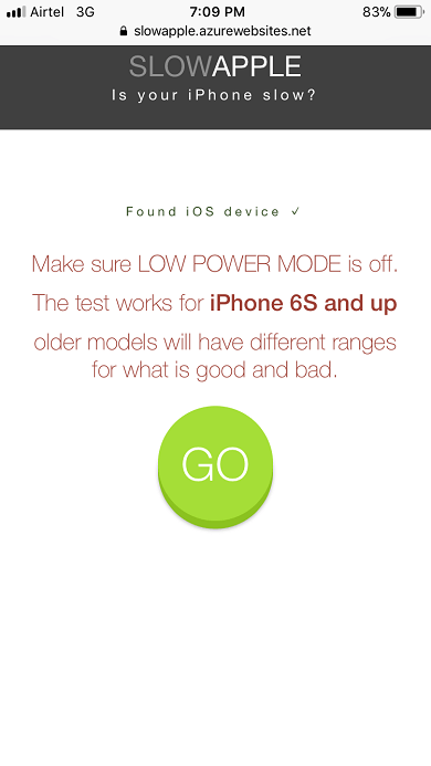 How to test if your iPhone is Slow
