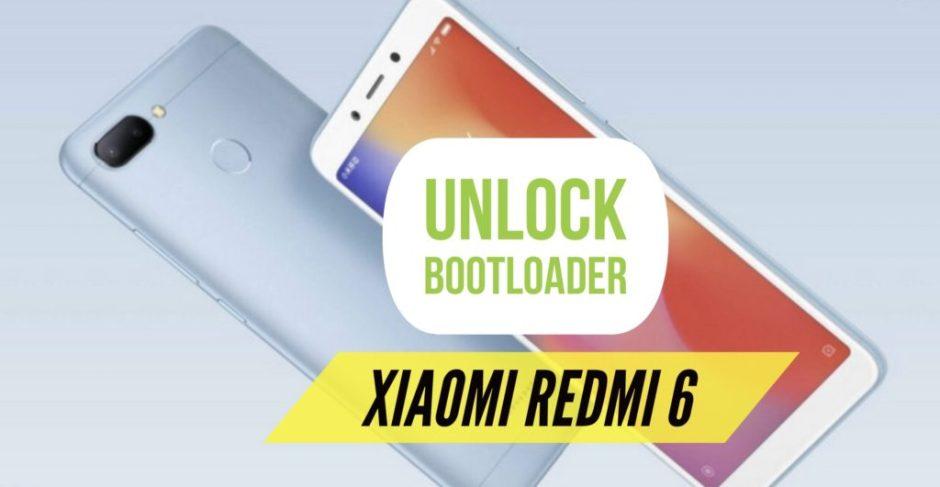 Unlock Bootloader Redmi 6