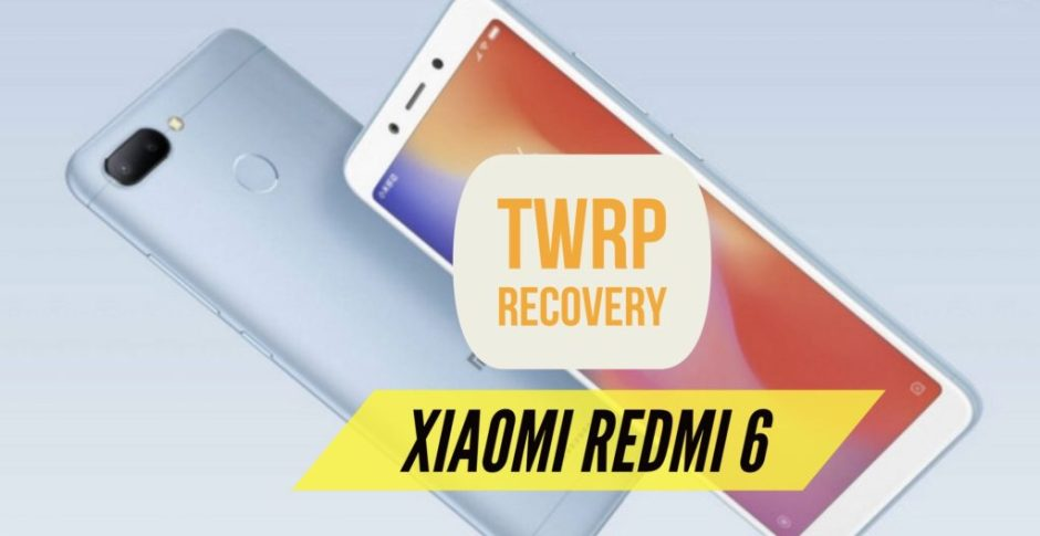 twrp recovery redmi 6