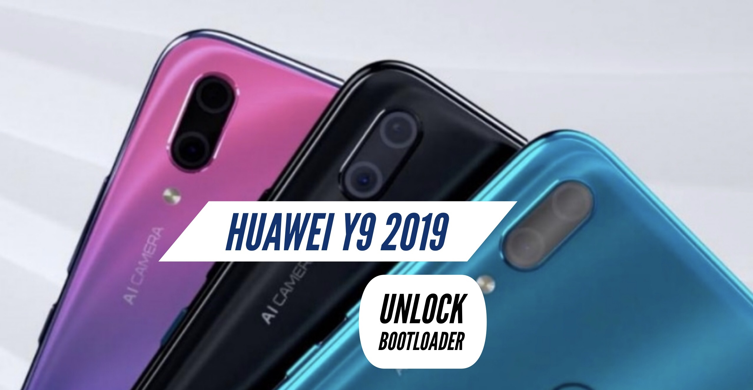 How to Unlock Bootloader on Huawei Y9 2019?