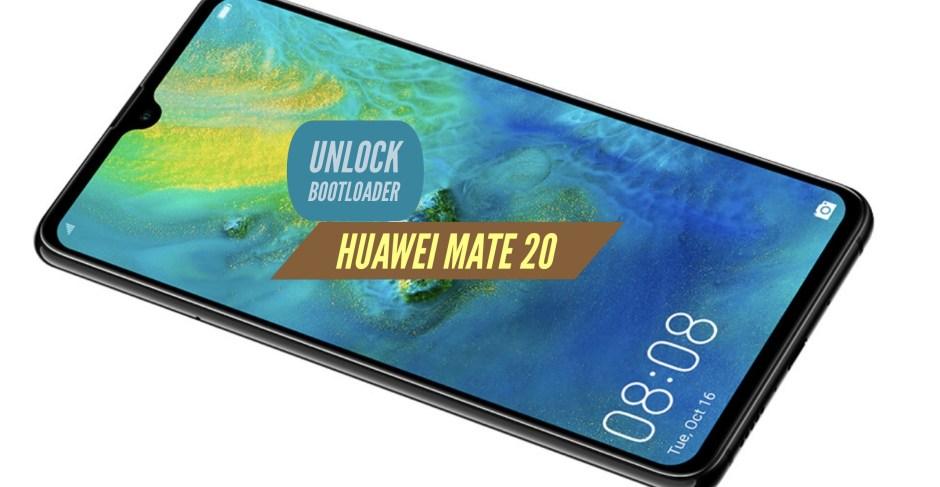 Unlock Bootloader Huawei Mate 20