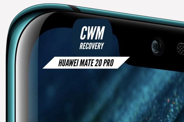 CWM Huawei Mate 20 Pro