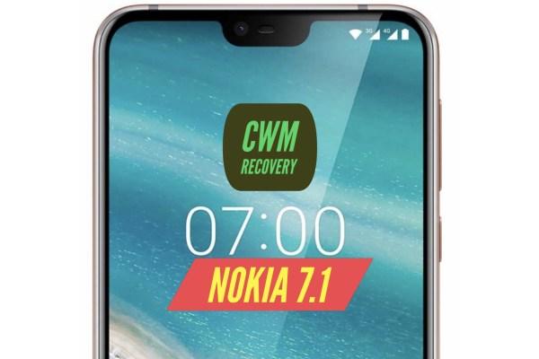 CWM Nokia 7.1