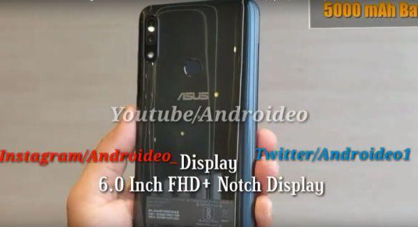 Zenfone Max Pro M2 Leaks