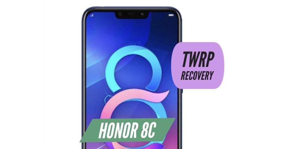 TWRP Honor 8C