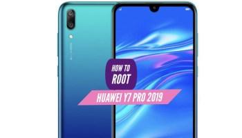 Huawei Y9 Root