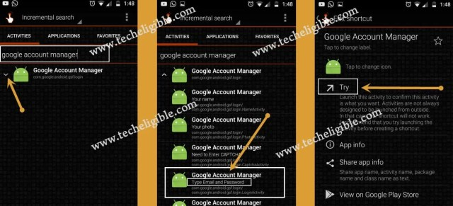 Install Google Account Manager to bypass frp samsung galaxy j3