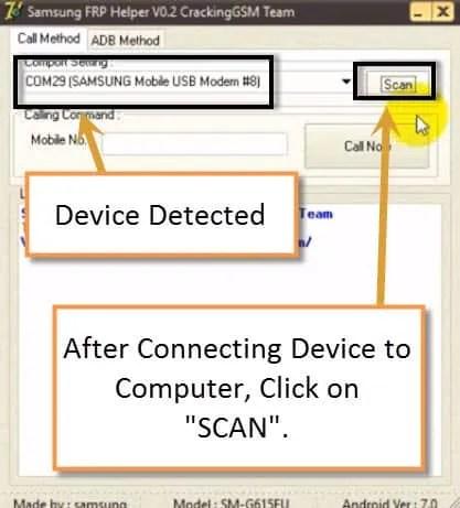 Bypass FRP Galaxy S8 by Samsung FRP Helper Software, Bypass Google verification Galaxy S8 Plus by Samsugn FRP Helper