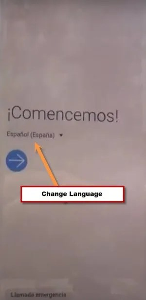 change language S10 plus to bypass frp