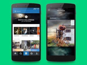 Instagram lança funcionalidade de histórias em tempo real