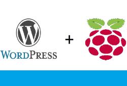 wordpress raspberry Pi