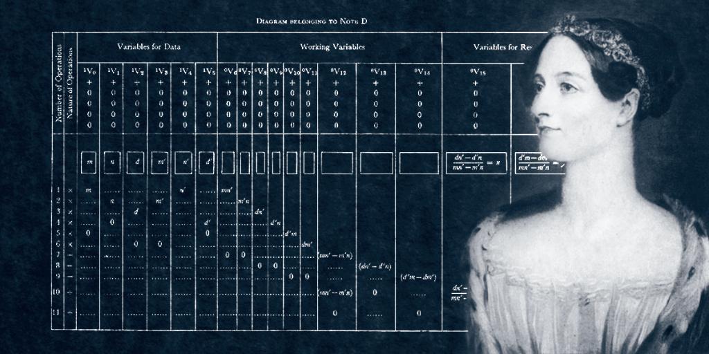O primeiro programador do mundo ou, a primeira?